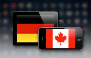 German and Canadian App Users