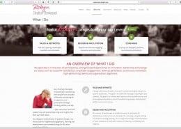 Positivity Strategist Web Design: New About Page