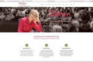 Positivity Strategist Web Design: New Home Page