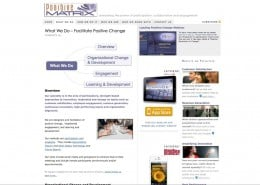 OLD SITE: What We Do Page