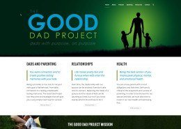 The Good Dad Project Website