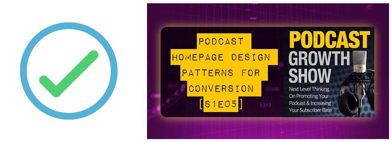 #6 on the podcast marketing checklist: Podcast homepage design patterns for conversion