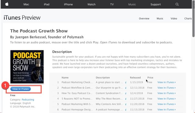 Podcast Growth Show Reviews How To Step 04-640
