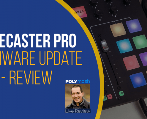 RodeCaster Pro 2.1 Firmware Update - New Features