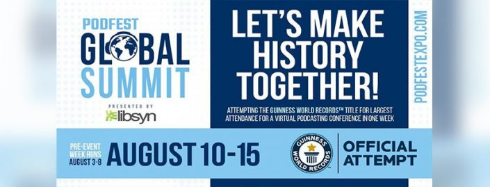 Be Part of Our Attempt to Make Podcasting History