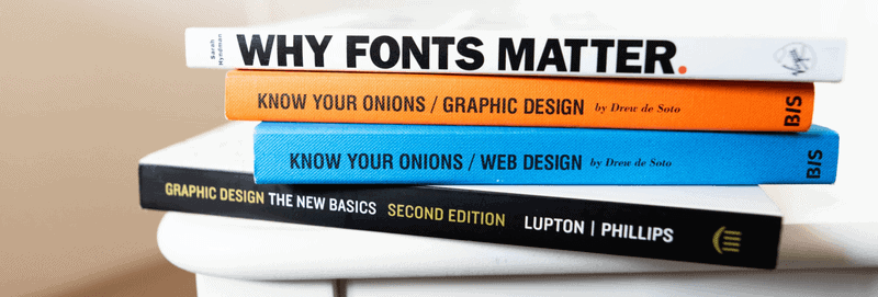 Fonts matter in podcast icon design