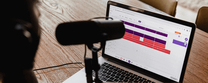 Editing Process of a podcast
