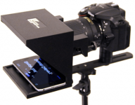 Little Prompter, Compact Personal Teleprompter for Video Production